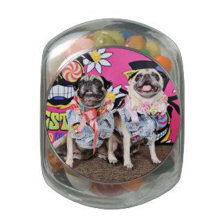 Pugstock 2015 - Lulu Coco - Pugs Jelly Belly Candy Jars