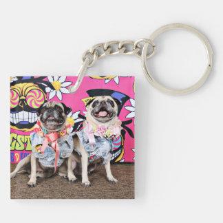Pugstock 2015 - Lulu Coco - Pugs Keychain