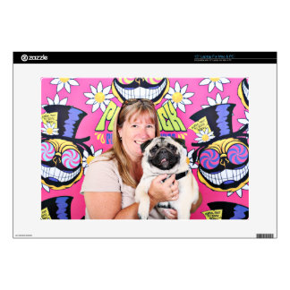 Pugstock 2015 - Maverick - Pug Decals For Laptops