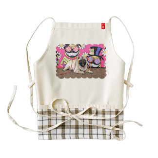 Pugstock 2015 - Maverick - Pug Zazzle HEART Apron