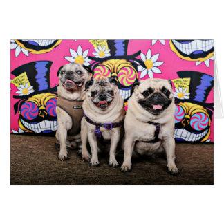 Pugstock 2015 - Missy Olive Waldo - Pugs Card