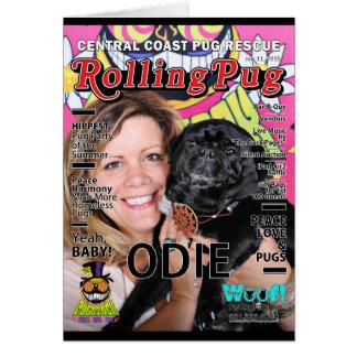 Pugstock 2015 - Odie - Pugs Card