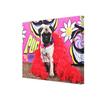 Pugstock 2015 - Pixie - Pug Canvas Print