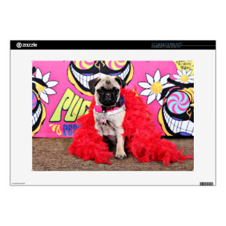 Pugstock 2015 - Pixie - Pug Skins For Laptops