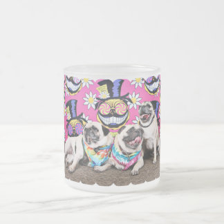 Pugstock 2015 - Sampson Oscar Madden - Pugs Frosted Glass Coffee Mug