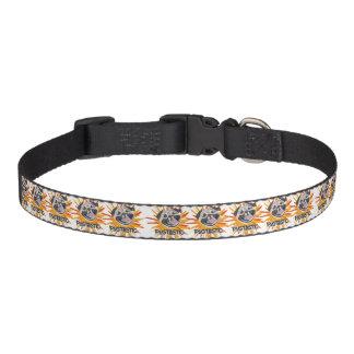 Pugtastic illustration dog smiling happy pug pet collar
