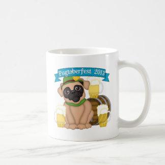 Pugtoberfest 2013 2 - Please add text Coffee Mugs