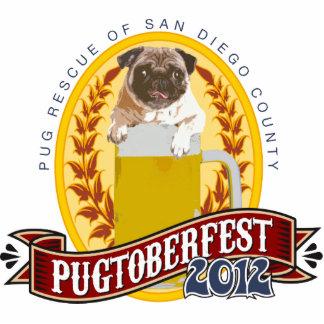 Pugtoberfest Logo Photo Sculpture