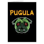 Pugula the Vampire Dog (blank) Card