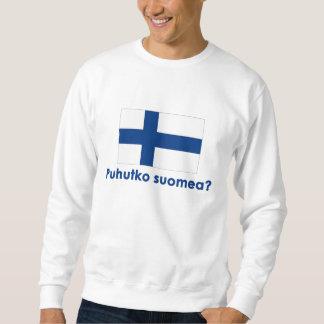 Puhutko Suomea? (Speak Finnish?) Sweatshirt
