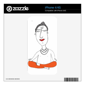 Pujari Decal For iPhone 4