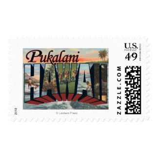 Pukalani, Hawaii - escenas grandes de la letra Envio