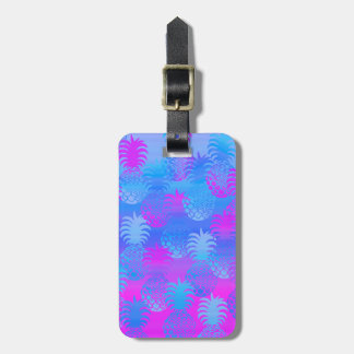 Pukana Hawaiian Pineapple Sunset Blend Tags For Luggage