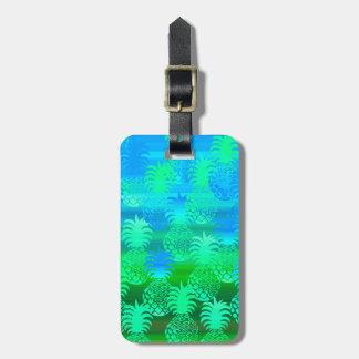 Pukana Hawaiian Pineapple Sunset Blend Bag Tags