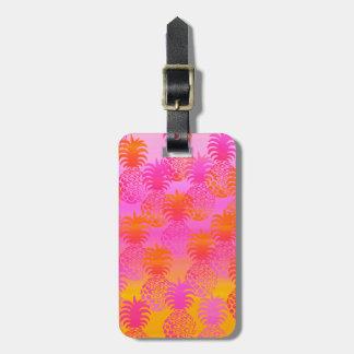 Pukana Hawaiian Pineapple Sunset Blend Luggage Tag