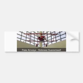 Puke Airways - Pitts Special Bumper Sticker