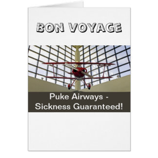 Puke Airways - Pitts Special Card
