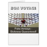 Puke Airways - Pitts Special Greeting Card