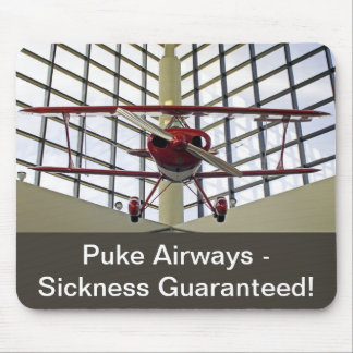 Puke Airways - Pitts Special Mouse Pad