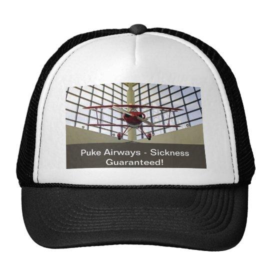 Puke Airways - Pitts Special Trucker Hat