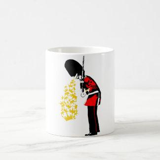 Puke Royal Guard Coffee Mug