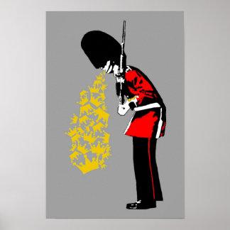 Puke Royal Guard Posters