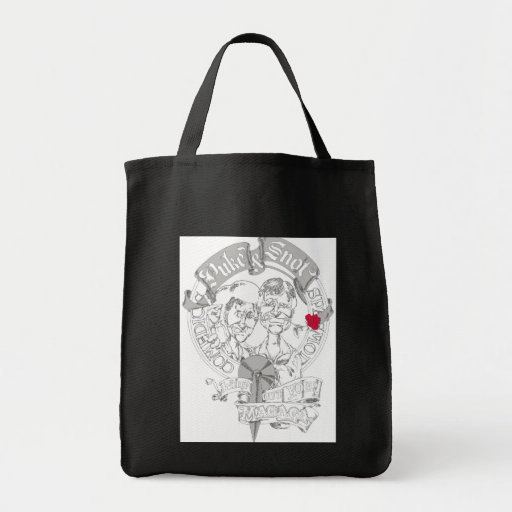 Puke & Snot Magaga Tote Bag
