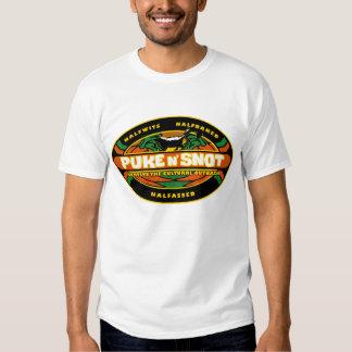 Puke & Snot Survivor Tee Shirt