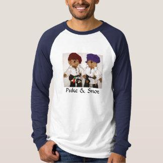 Puke & Snot Teddy Bears T-shirt