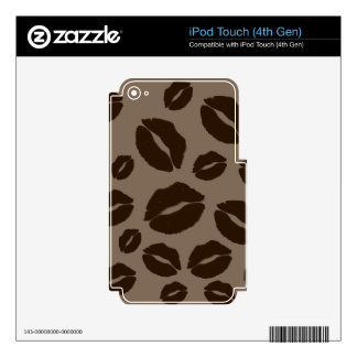 Puker Up Kiss iPod Touch 4G Decals