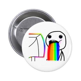 Pukes Rainbows Pins