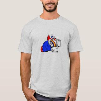 Puking clown shirt
