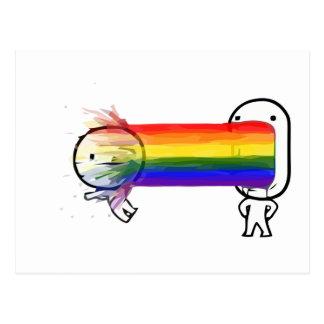 puking_rainbow_meme_postcard r6cebd4e091424be68baf29796007865f_vgbaq_8byvr_324 rainbow puke meme gifts on zazzle