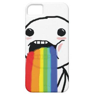 Puking Rainbows iPhone SE/5/5s Case