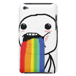 Puking Rainbows iPod Touch Case-Mate Case