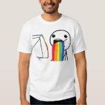 Puking Rainbows T Shirt