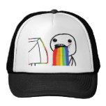 Puking Rainbows Trucker Hat