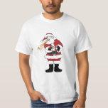 Puking Santa T-shirt