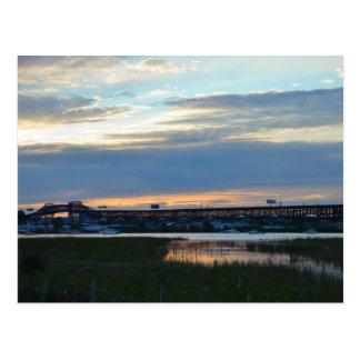 Pulaski at Sunset Postcard