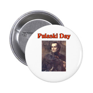 Pulaski Day Buttons