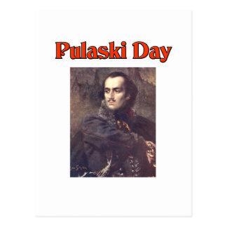 Pulaski Day Postcard