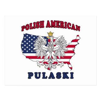 Pulaski Wisconsin Polish Postcard