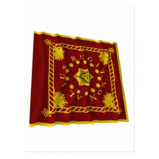 Pulaski's Legion Flag Postcard