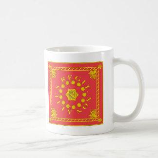 Pulaski's Legion Flag T-Shirts Classic White Coffee Mug