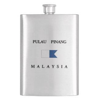 Pulau Pinang Malaysia Alpha Dive Flag Flask
