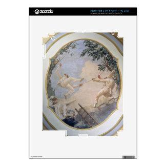 Pulcinella on a Swing, 1797 (fresco) iPad 3 Decals