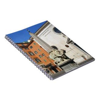 Pulcino Della Minerva Spiral Note Book