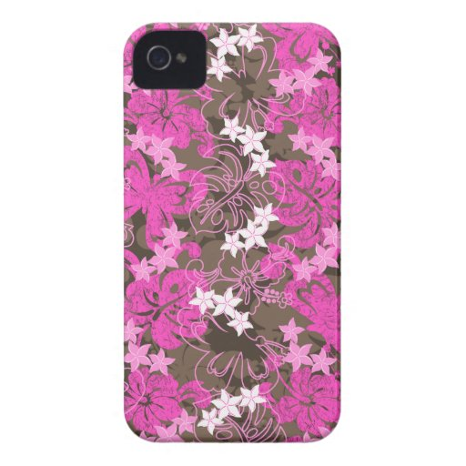 Pulelehua Butterfly Hibiscus iPhone 4 Casemate iPhone 4 Cases
