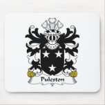 Puleston Family Crest Mouse Pads
