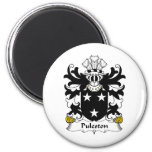 Puleston Family Crest Refrigerator Magnet